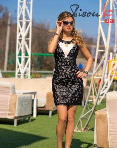 Платье 7553