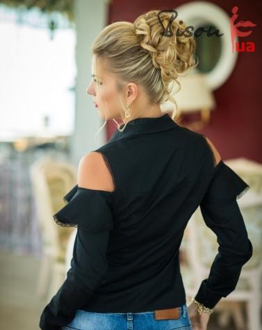 Блузка чёрная 1274