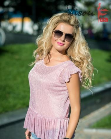 Блузка розовая 1297