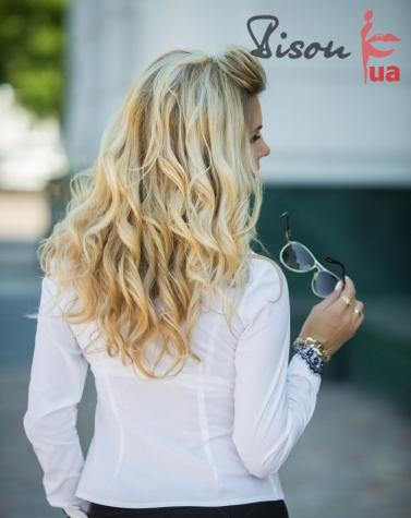 Блузка белая 1254