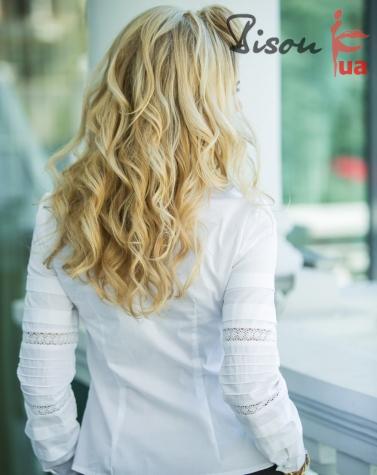 Блузка белая 1298