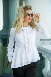 Блузка белая 1301