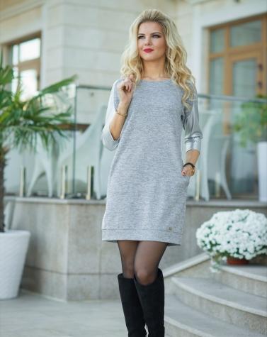 Платье-свитер 7717