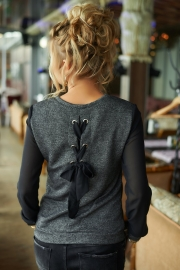 Блузка из трикотажа 1310