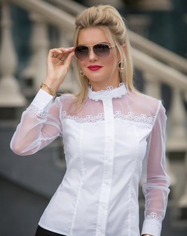 Блузка белая 1330