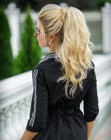 Блузка чёрная 1335