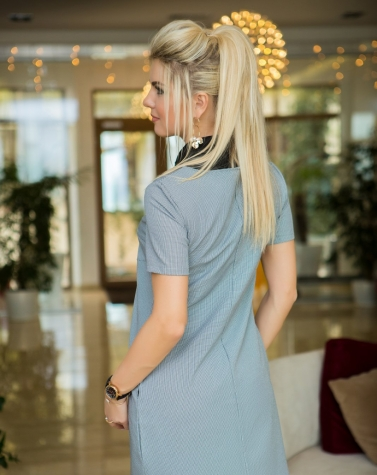Деловое платье-двойка 7809