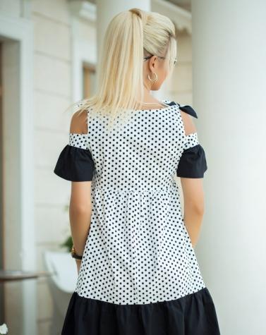 Платье с завязками 7763