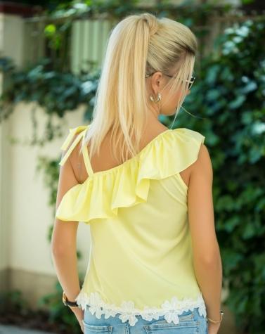 Блузка лимонная 1340
