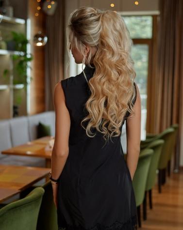Платье-двойка с люрексом 7657