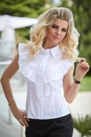 Летняя блузка с прошвой 1350