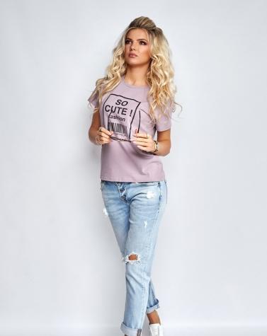Стильная футболка  1364