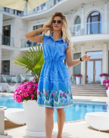 Летнее платье 7946