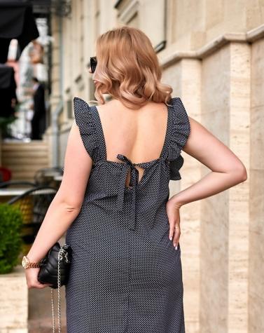 Лёгкое платье с крылышками 7900