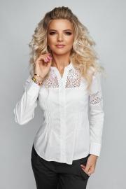 Блузка белая 1218