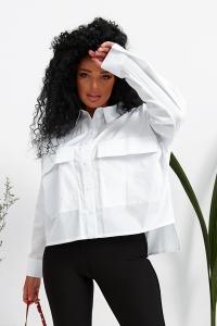Женская рубашка белая 1374