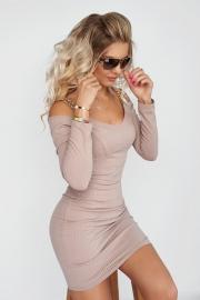 Элегантное облегающее платье 7960