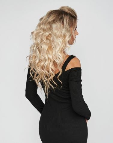 Элегантное чёрное платье 7960