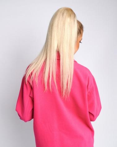 Полупальто кашемировое розовое 1375